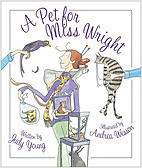 Cover: A Pet for Miss Wright