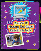 Cover: Choose It! Finding the Right Research Topic