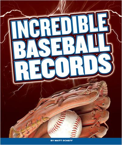 Cover: Incredible Baseball Records