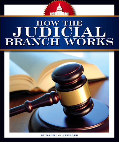 Cover: How the Judicial Branch Works