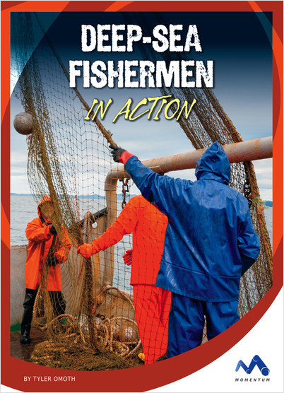 Cover: Deep-Sea Fishermen in Action