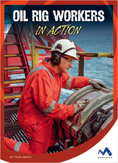 Cover: Oil Rig Workers in Action