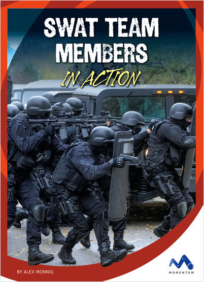 Cover: SWAT Team Members in Action