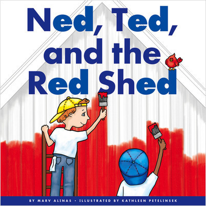 Cover: Ned, Ted, and the Red Shed