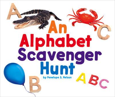 Cover: An Alphabet Scavenger Hunt