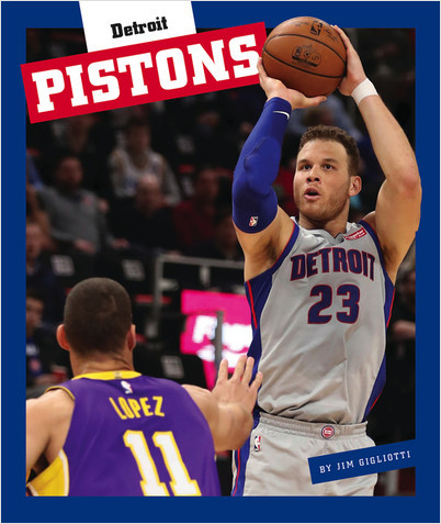 Cover: Detroit Pistons