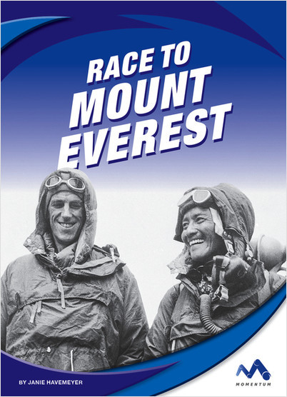 Cover: Race to Mount Everest