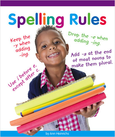 Cover: Spelling Rules