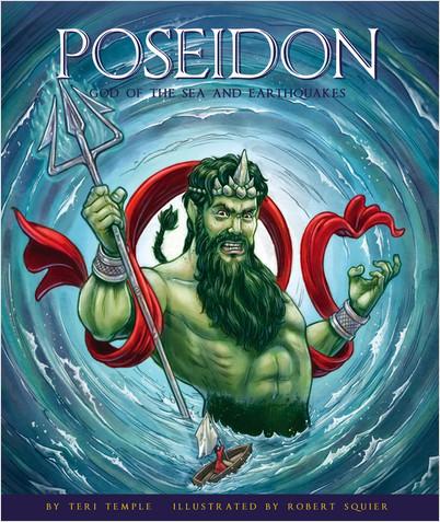 Cover: Poseidon: God of the Sea and Earthquakes