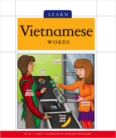 Cover: Learn Vietnamese Words