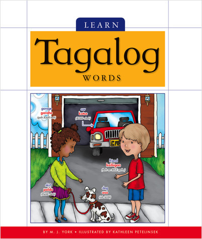 Cover: Learn Tagalog Words