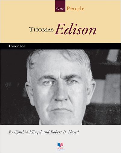 Cover: Thomas Edison: Inventor