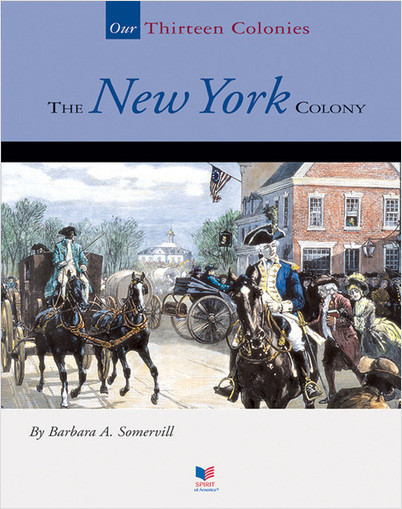 Cover: The New York Colony