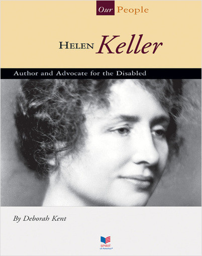 Cover: Helen Keller: Author and Advocate for the Disabled