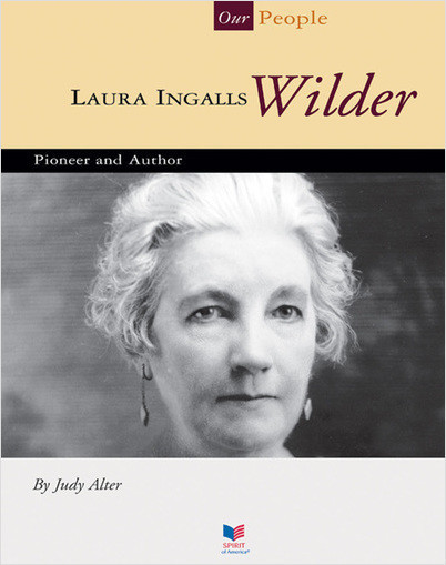 Cover: Laura Ingalls Wilder: Pioneer and Author