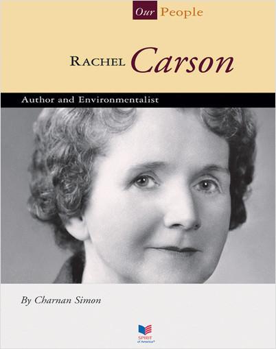 Cover: Rachel Carson: Author and Environmentalist