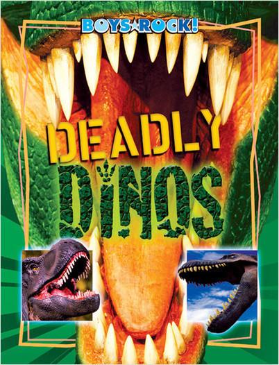 Cover: Deadly Dinos