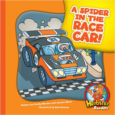 Cover: A Spider in the Race Car!