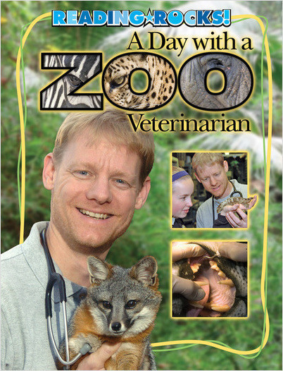 Cover: A Day with a Zoo Veterinarian