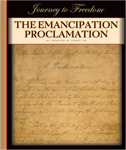 Cover: The Emancipation Proclamation