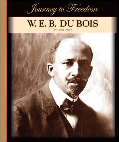 Cover: W. E. B. Du Bois