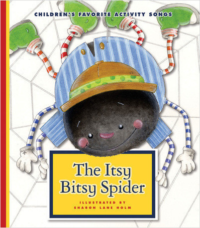 Cover: The Itsy Bitsy Spider