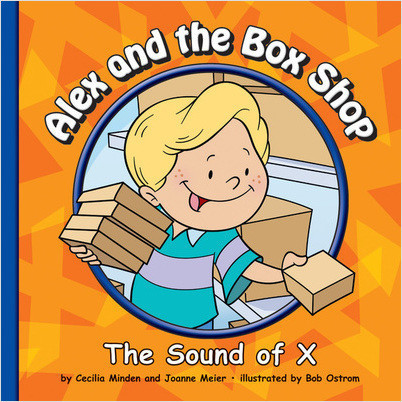 Cover: Alex and the Box Shop: The Sound of X