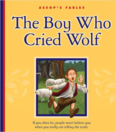 Cover: The Boy Who Cried Wolf