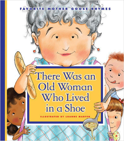 Cover: There Was an Old Woman Who Lived in a Shoe
