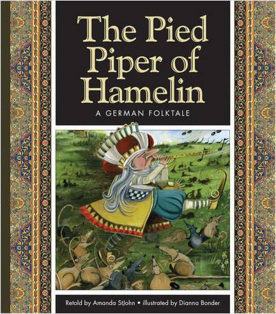 Cover: The Pied Piper of Hamelin: A German Folktale