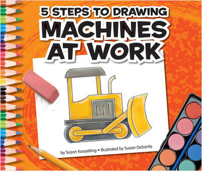 Cover: 5 Steps to Drawing Machines at Work