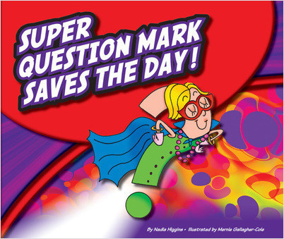 Cover: Super Question Mark Saves the Day!