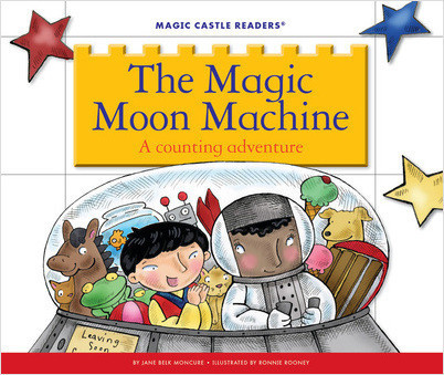 Cover: The Magic Moon Machine: A Counting Adventure