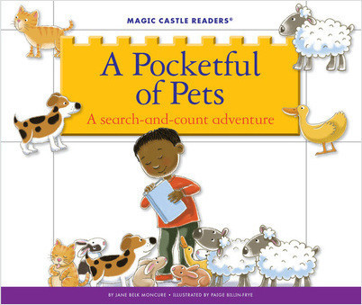 Cover: A Pocketful of Pets: A Search-and-Count Adventure