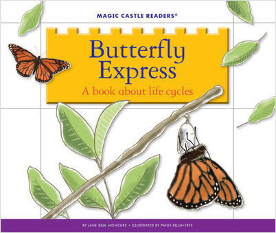 Cover: Butterfly Express: A Book about Life Cycles