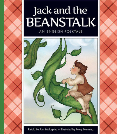 Cover: Jack and the Beanstalk: An English Folktale