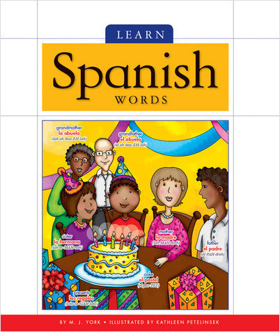 Cover: Learn Spanish Words