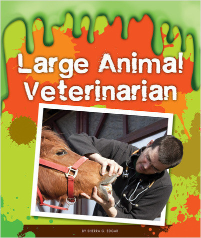 Cover: Large Animal Veterinarian