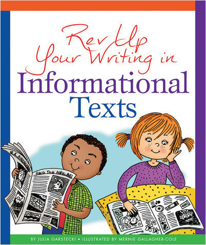 Cover: Rev Up Your Writing in Informational Texts