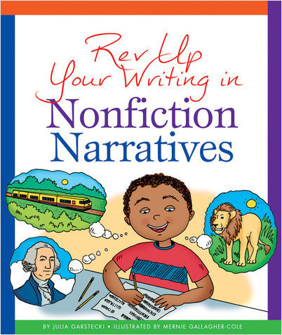 Cover: Rev Up Your Writing in Nonfiction Narratives