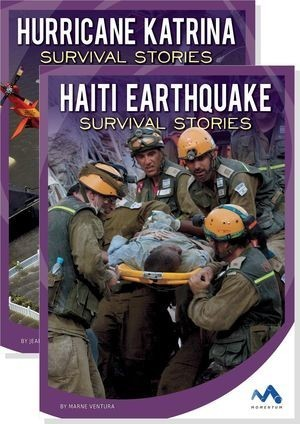 Cover: Natural Disaster True Survival Stories
