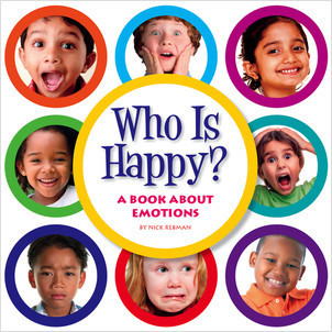 Cover: Who Is Happy?: A Book about Emotions