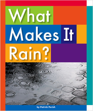 Cover: What Makes It Rain?