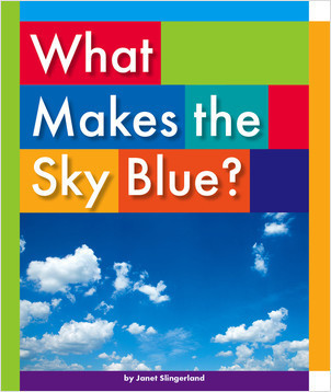 Cover: What Makes the Sky Blue?