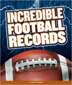 Cover: Incredible Football Records