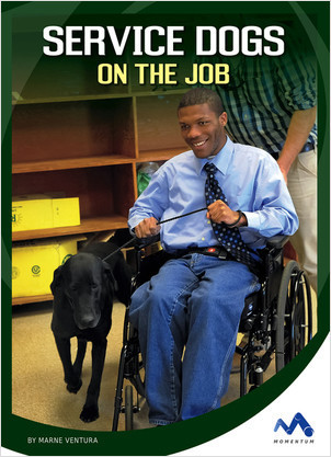 Cover: Service Dogs on the Job