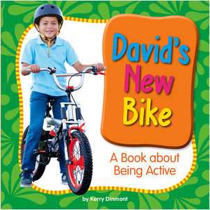 Cover: David's New Bike: A Book about Being Active