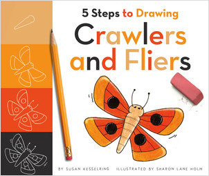 Cover: 5 Steps to Drawing Crawlers and Fliers