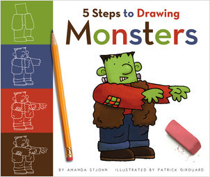 Cover: 5 Steps to Drawing Monsters