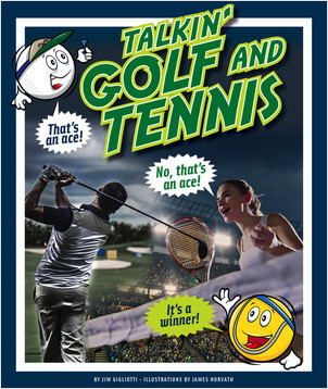 Cover: Talkin' Golf and Tennis